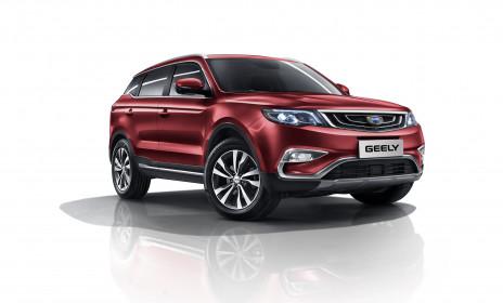 Geely Atlas удерживает лидерство на российском рынке - АвтоДар