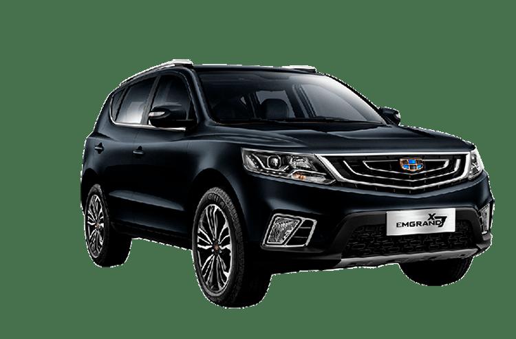 Emgrand X7 - Комплектации и цены