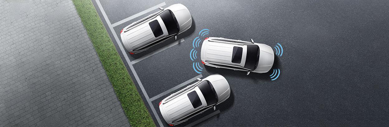 Передние и задние датчики парковки