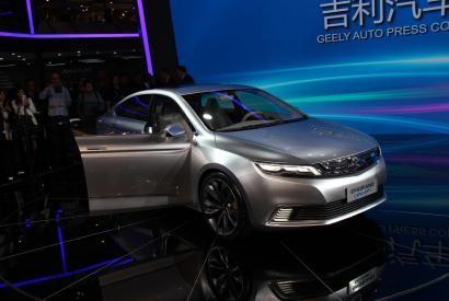 Оригинально и безопасно - Geely Concept представлен на Шанхайском автосалоне 2015 - АВТОФАН