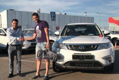 Продан первый автомобиль Geely - РУМОС-Комтранс