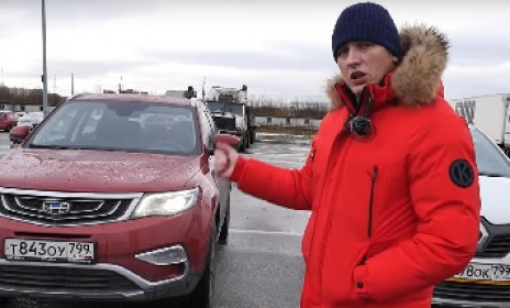 Geely Atlas VS Renault Kaptur (Царь-кроссовер, первый раунд) - Ринг Авто