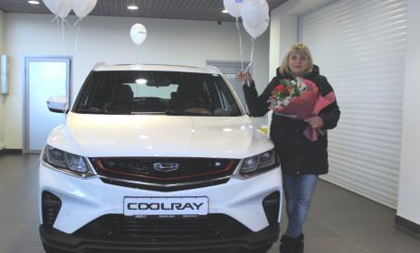 """Выдача первого Geely Coolray  - ООО """"СВ-Авто"""""""