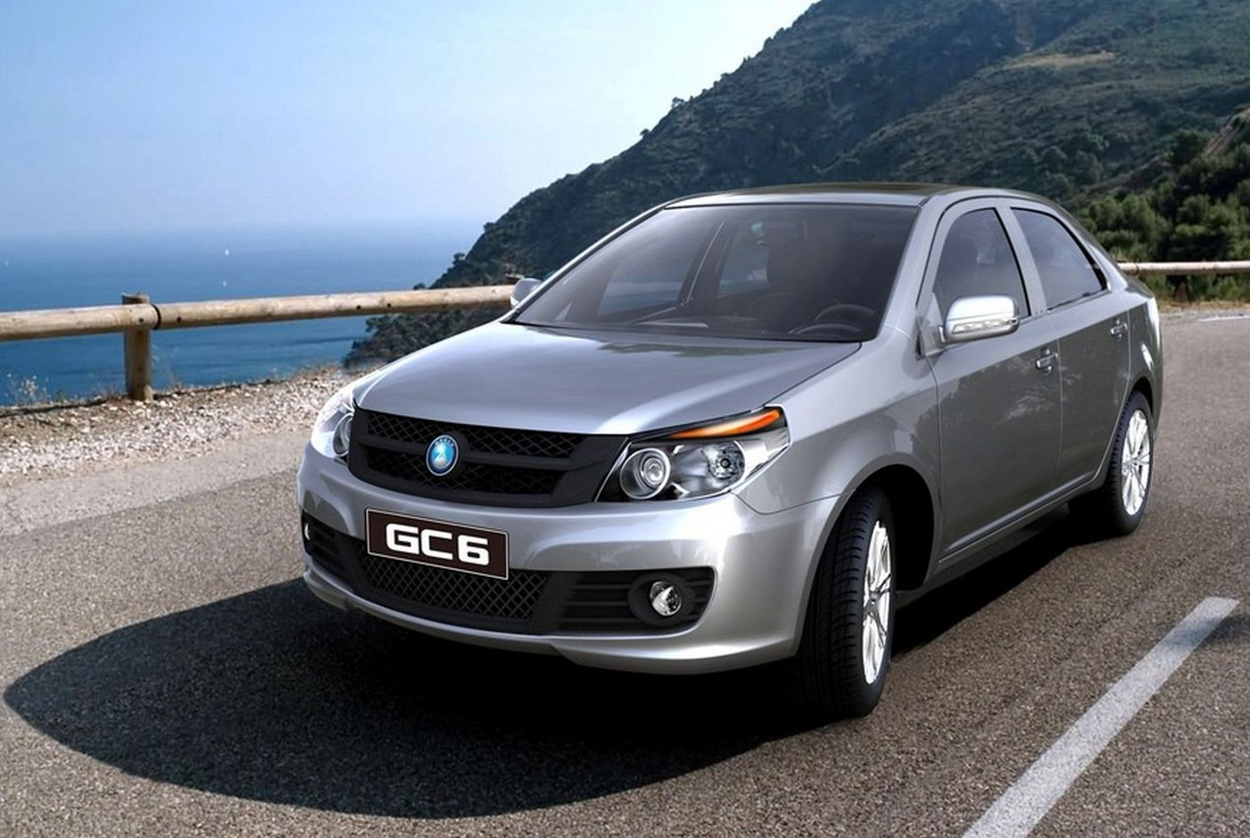 GC6 - Geely motors