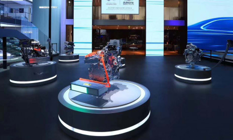На Шанхайском автосалоне состоялась премьера шести гибридных систем привода Geely  - Флайт Авто