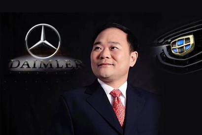 Основатель Geely Ли Шуфу стал крупнейшим акционером Daimler AG - Автомагистраль