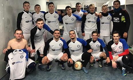 GEELY официальный спонсор футбольной команды FC KRAFT - Интеравтоцентр
