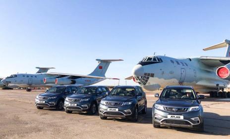 Geely Motors предоставила автомобили для международных стратегических командно-штабных учений «Центр-2019» - Брянскзапчасть
