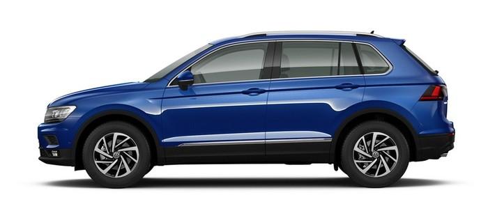 Volkswagen Tiguan 1.4 TSI BlueMotion MT (125 л.с.) 2WD Winter Edition