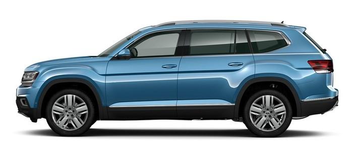 Volkswagen Teramont 3.6 V6 AT AWD (280 л.с.) Status