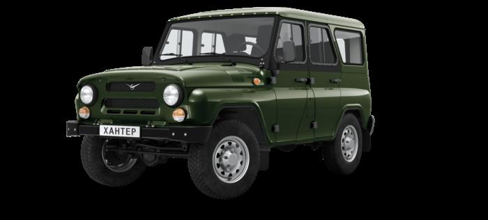 УАЗ Hunter 2.7 МТ 4WD 134,6 л.с. Классик Fleet без ABS 2924-024
