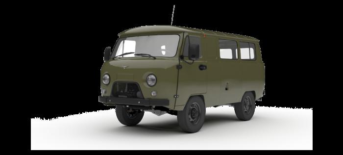 УАЗ Остекленный фургон 2.7 5MT (112 л.с.) Стандарт с БДИФ 562-05