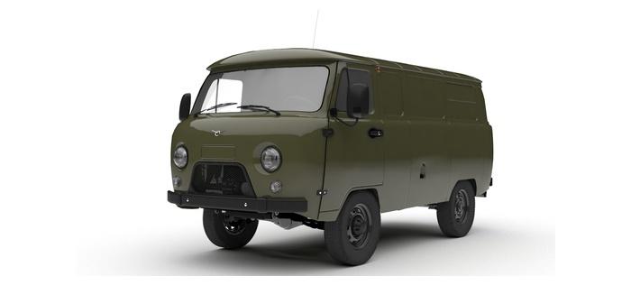 УАЗ Грузовой фургон с полками 2.7 5MT (112 л. с.) Стандарт 557