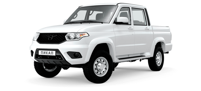 УАЗ Pickup 2.7 AT 4x4 (149,6 л.с.) Комфорт Автомат