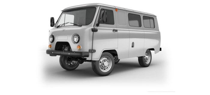 УАЗ Остекленный фургон