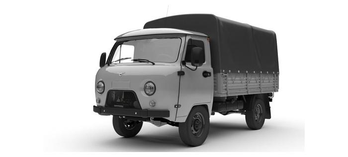 УАЗ Одинарная кабина с бортом