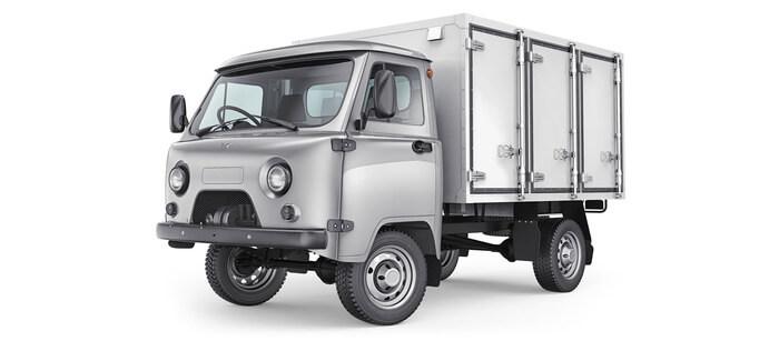 УАЗ Фургон для перевозки хлеба