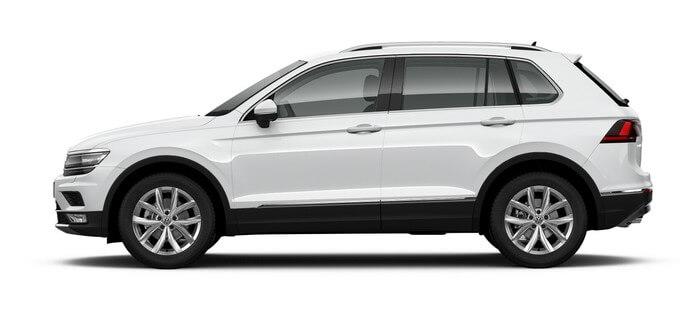 Volkswagen Tiguan 1.4 TSI 4Motion DSG (150 л.с.) 4WD Trendline