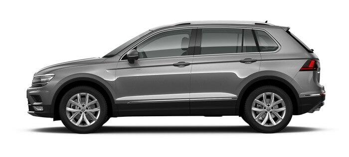Volkswagen Tiguan 1.4 TSI BlueMotion DSG (150 л.с.) 2WD Trendline