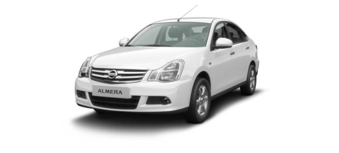 Nissan Almera 1.6 MT (102 л. с.) Comfort A/C