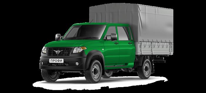 УАЗ Профи Борт с двойной кабиной 2.7 MT (150 л. с.) Стандарт