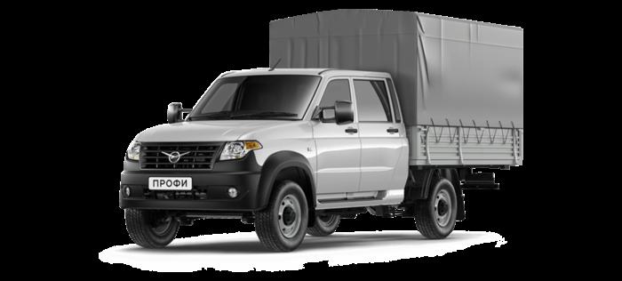 УАЗ Профи Борт с двойной кабиной 2.7 MT (150 л. с.) 4х4 Стандарт 4х4