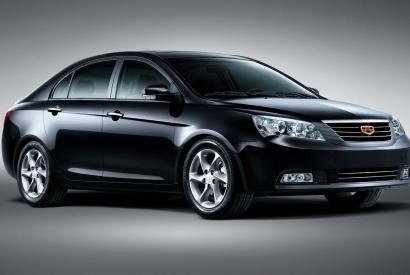 Geely Emgrand EC7 - самый продаваемый китайский седан по итогам января 2015 - Антикор Сервис