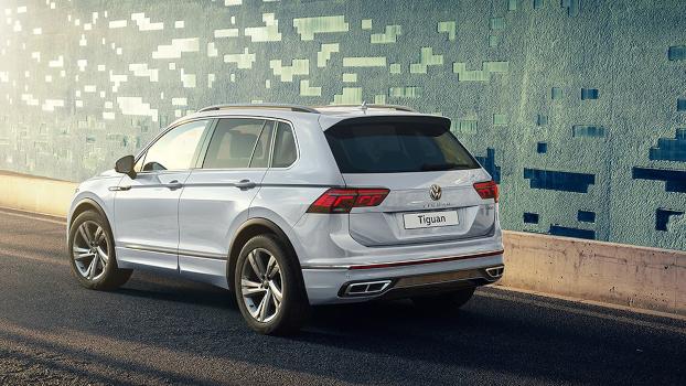 Volkswagen Tiguan 2021 — новый во всем