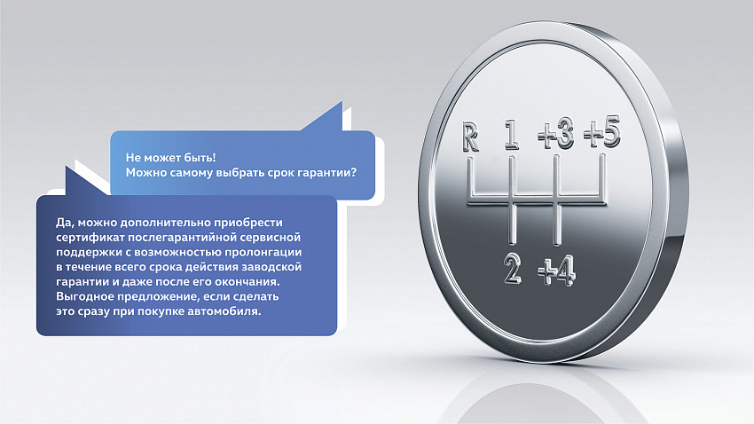 Программа послегарантийной сервисной поддержки Volkswagen
