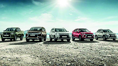 Скидки на все автомобили Mitsubishi до 350 000 рублей.