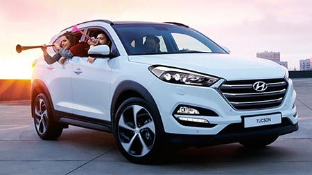 Выгода 30 000 Р. на Hyundai Tucson