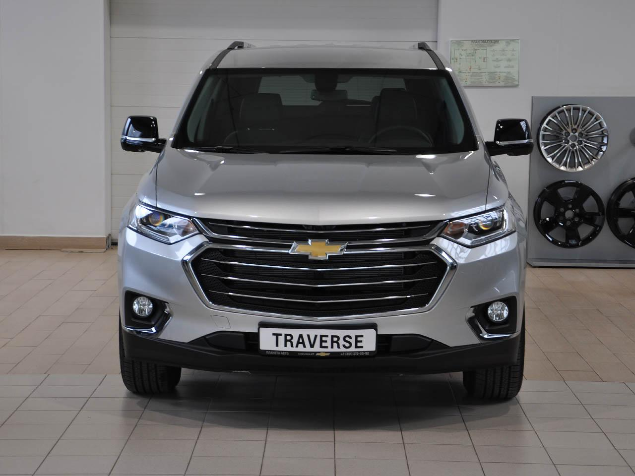 Chevrolet Traverse 3.6 AT AWD (314 л.с.) LT