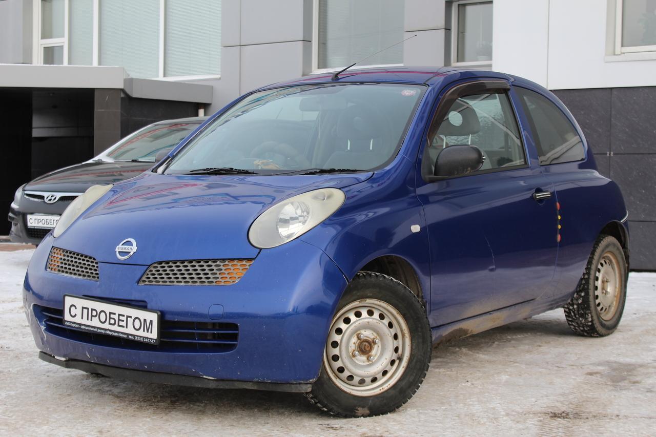 Nissan March 1.0 CVT (60 л. с.)