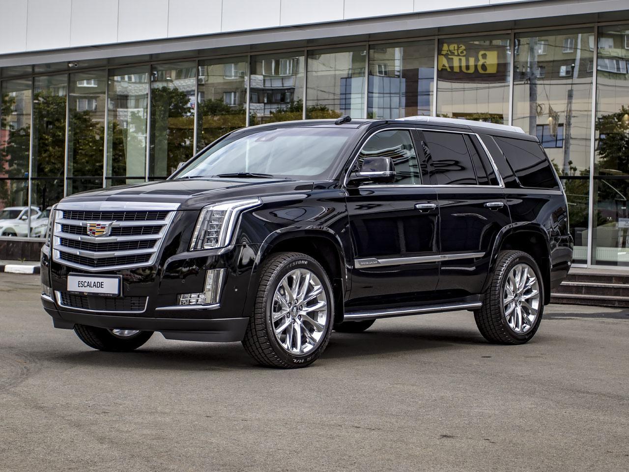 Cadillac Escalade 6.2 V8 АТ 4WD (426 л.с.) Luxury