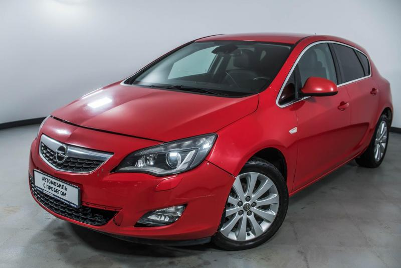 Opel Astra 1.6 AT (115 л. с.)
