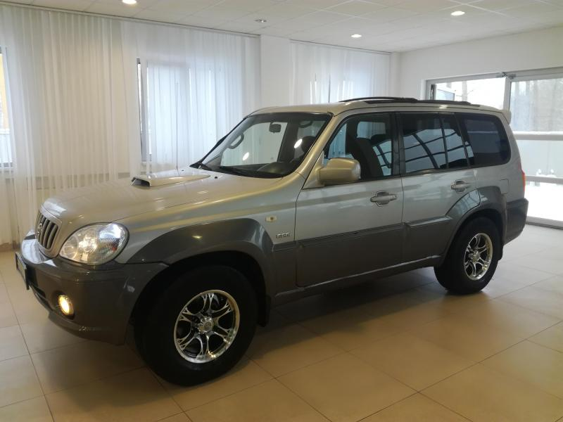 Hyundai Terracan 2.9 MT 4WD (150 л. с.)