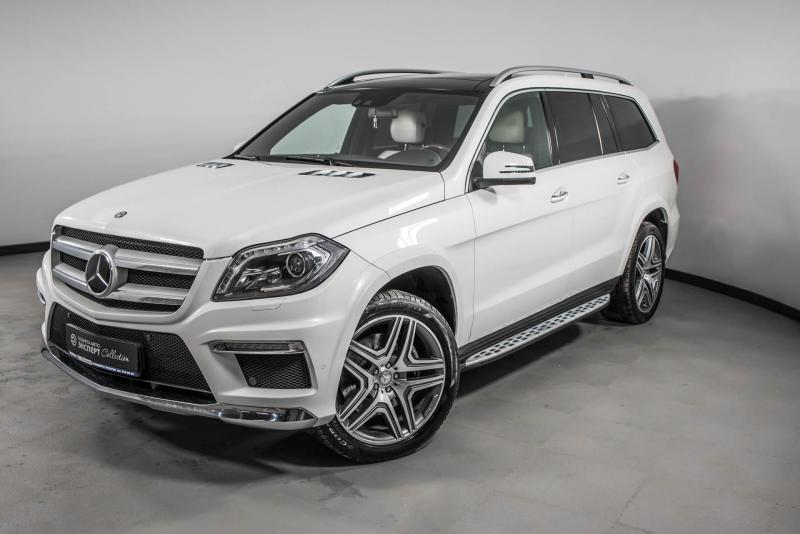 Mercedes-Benz GL-класс 500 4.7 AT (435 л.с.) 4WD