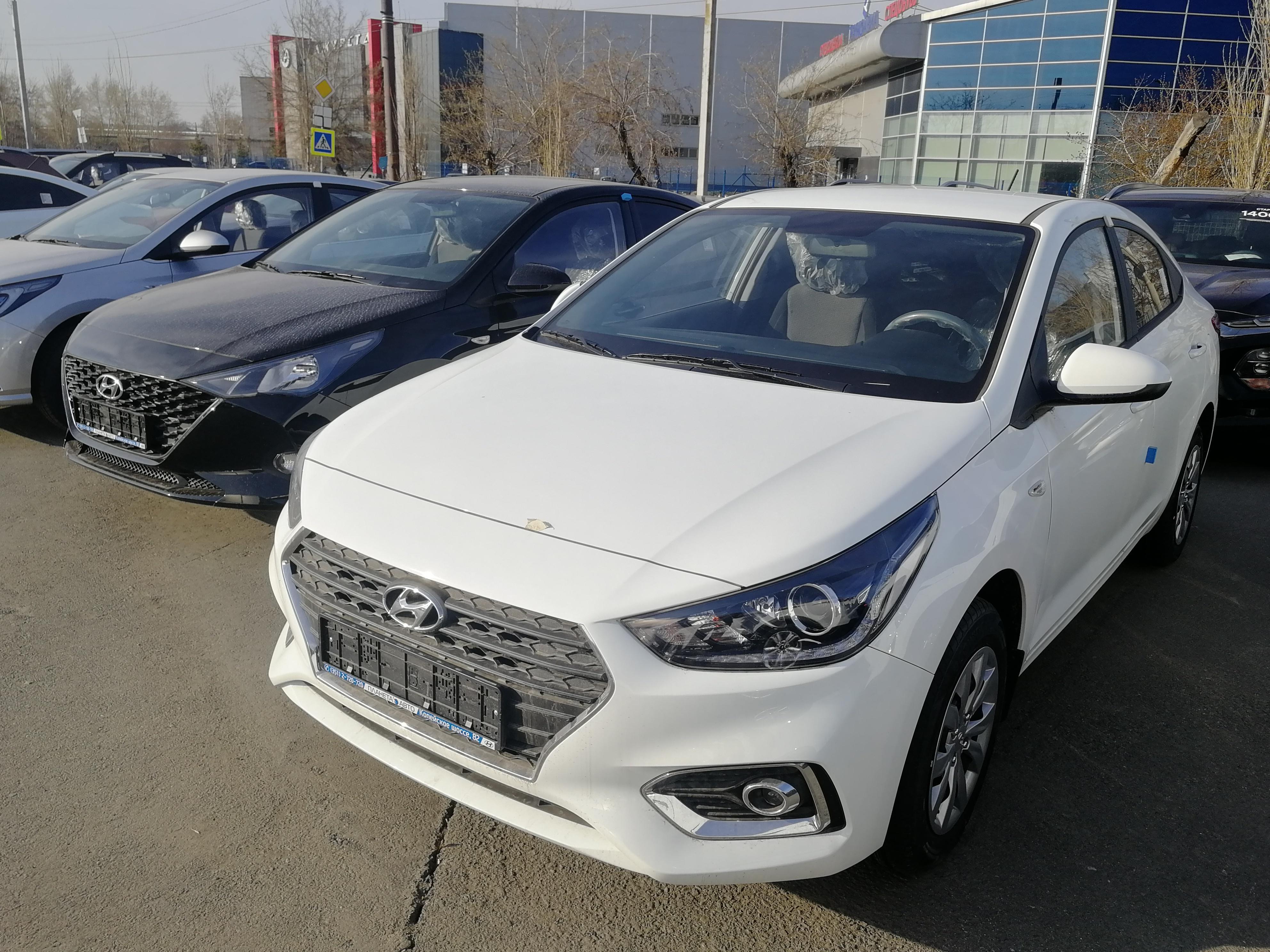 Hyundai Solaris 1.6 AT (123 л.с.) Comfort WIN