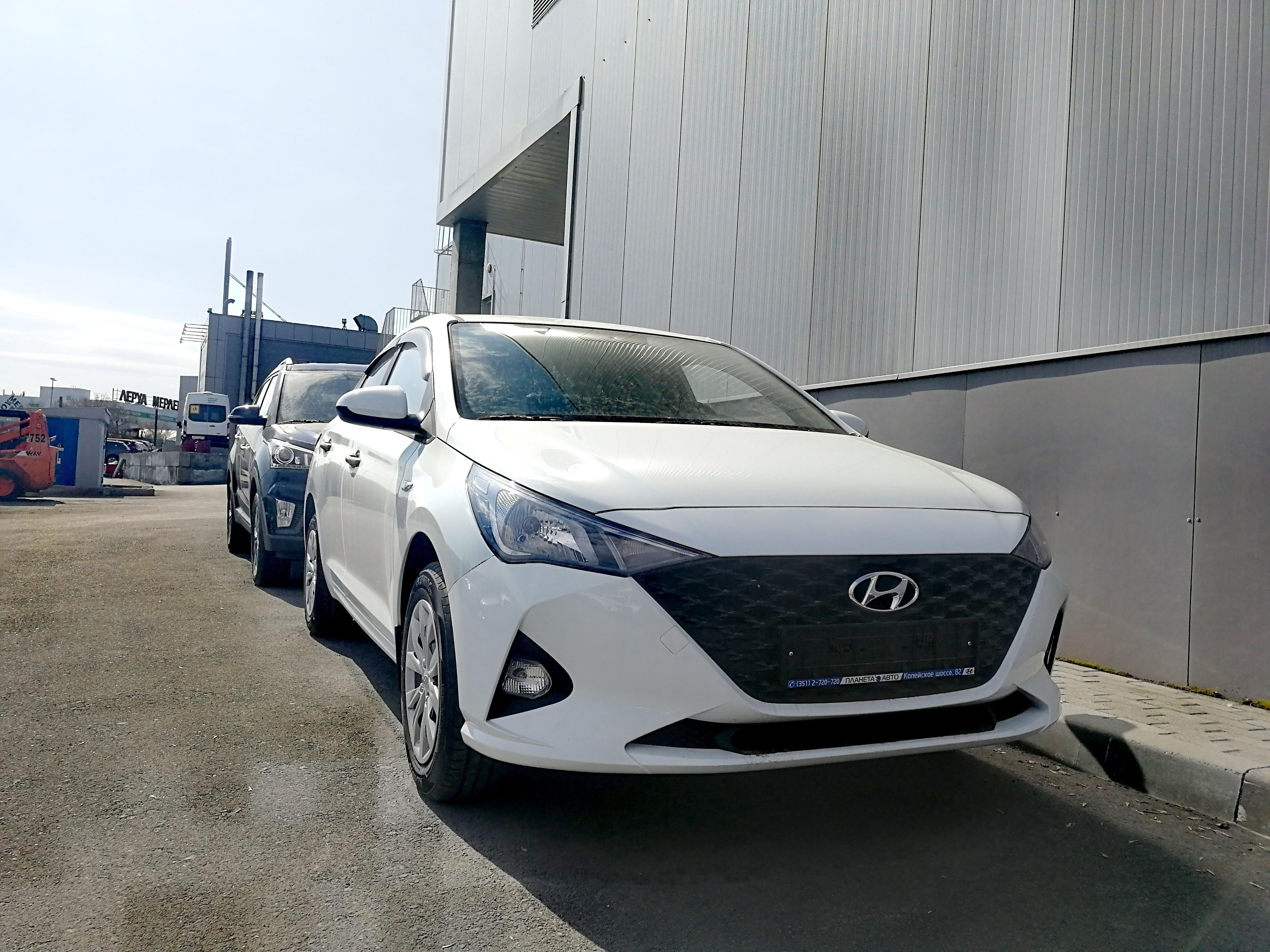 Hyundai Новый Solaris 1.6 MT (123 л.с.) Comfort