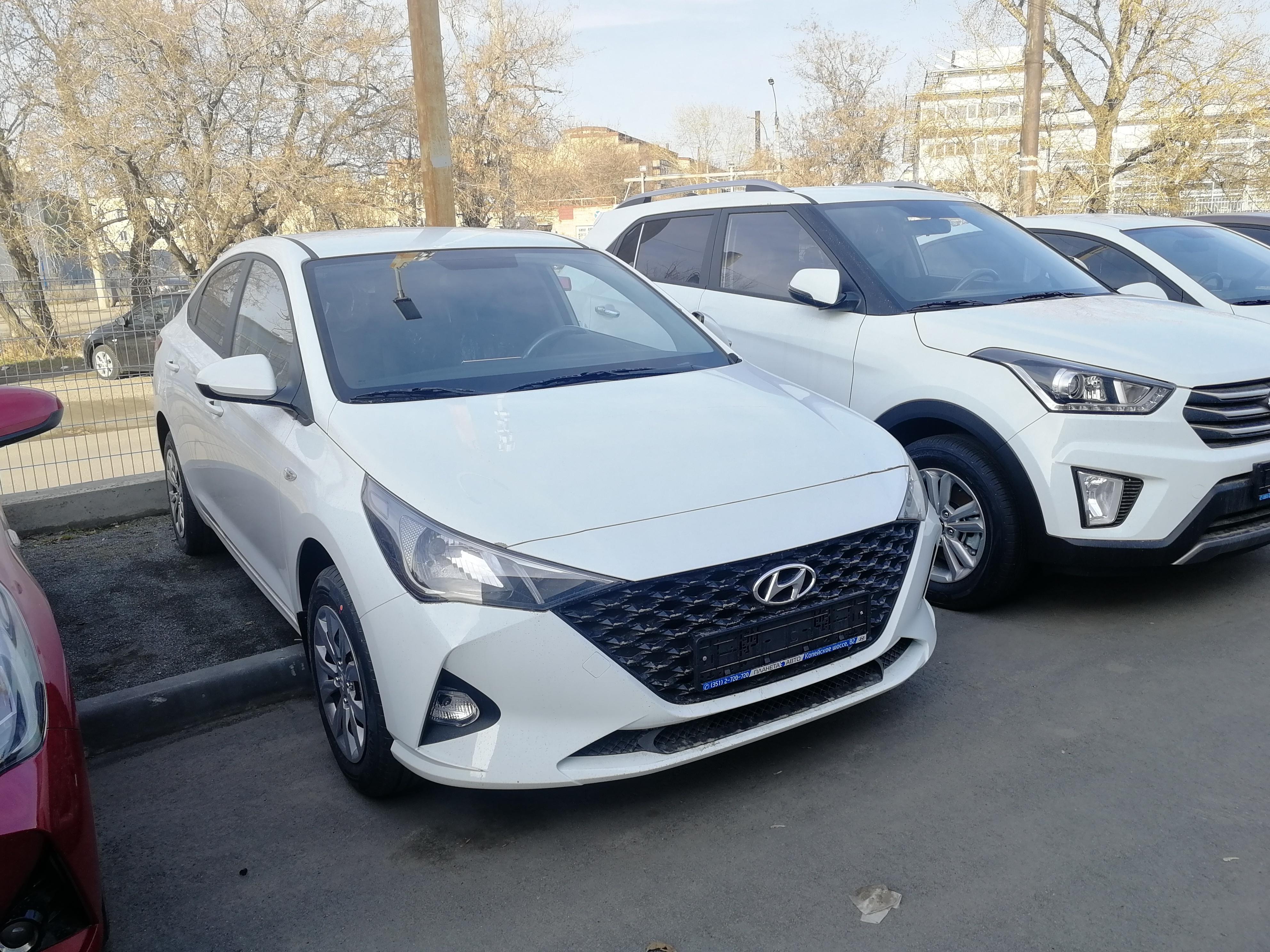 Hyundai Новый Solaris 1.6 MT (123 л.с.) Active Plus