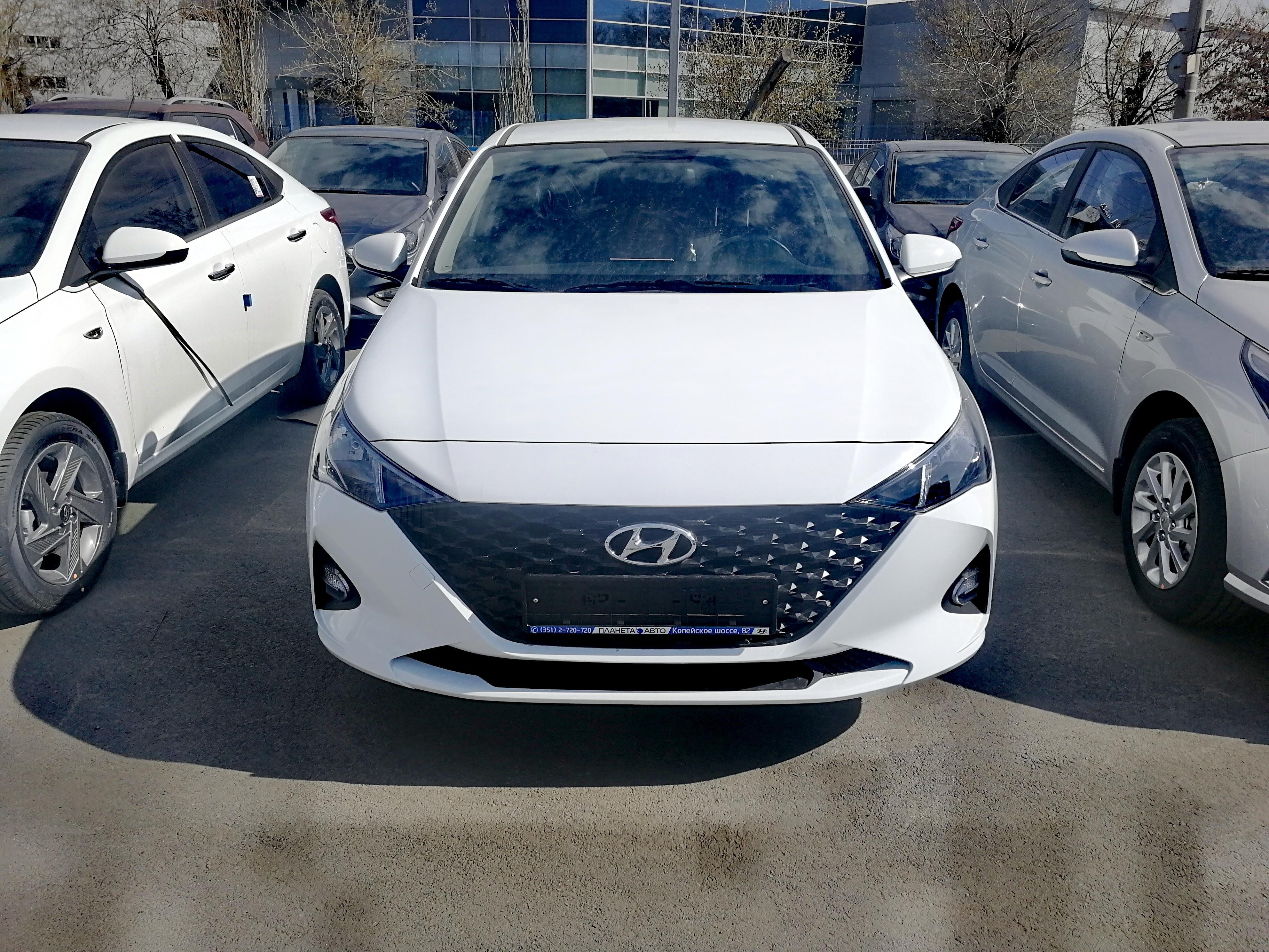 Hyundai Новый Solaris 1.6 AT (123 л.с.) Active Plus