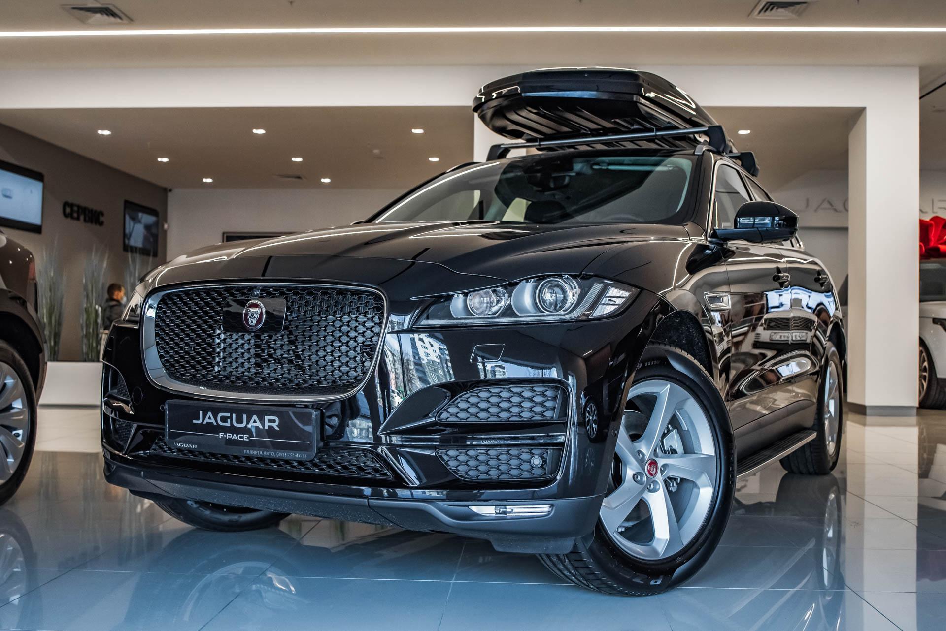 Jaguar F-Pace 2.0 D AT (180 л. с.) AWD Prestige