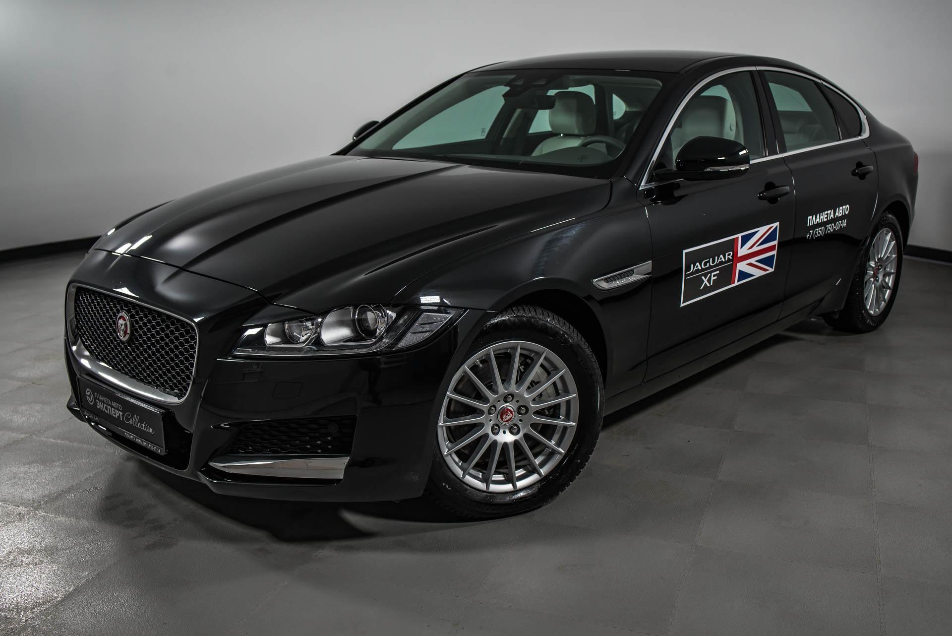 Jaguar XF 2.0 D AT AWD (180 л. с.) Prestige