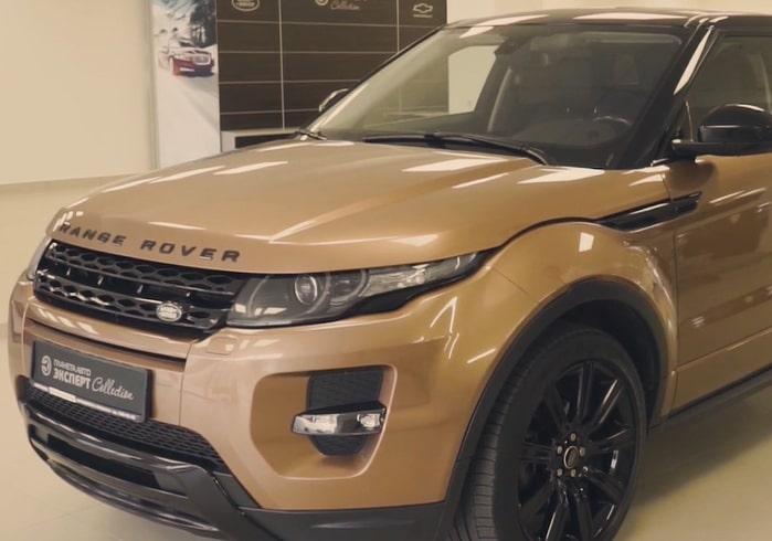 Видеообзор на Range Rover Evoque (2014 г. вып.)