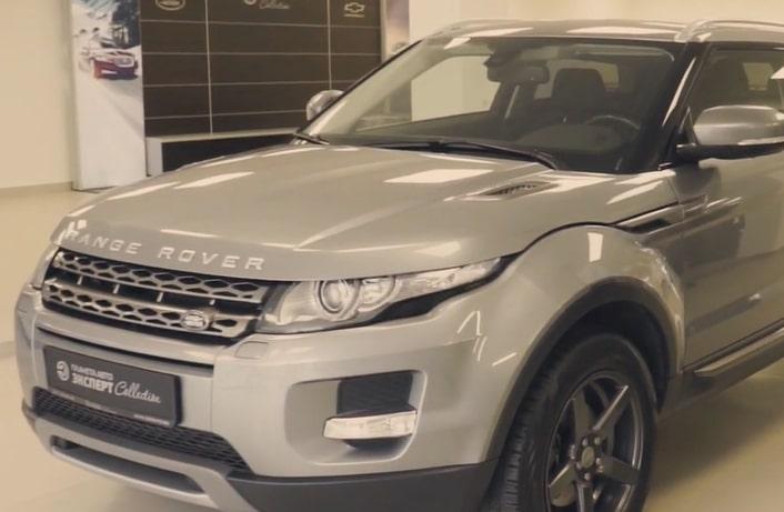 Видеообзор на Range Rover Evoque (2013 г. вып.)