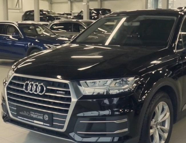Видеообзор на Audi Q7